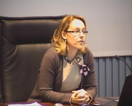 Paula Uría. Jefa de Area de Ahorro e Eficiencia Enerxética. - Xornada sobre sostibilidade enerxética municipal